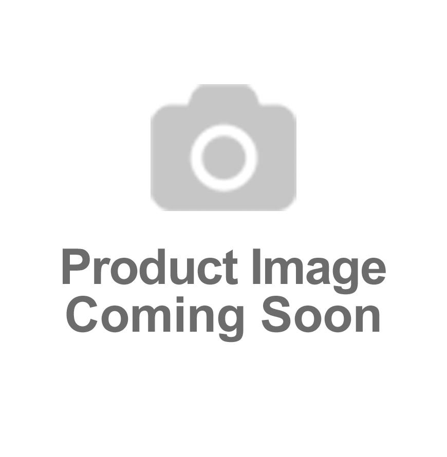 PRE-FRAMED Eric Cantona Signed Manchester United Shirt Number 7 Black Outline - Panoramic