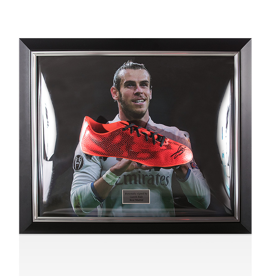 Framed Gareth Bale Signed Football Boot - Real Madrid Autograph ... 2b1854d16a6