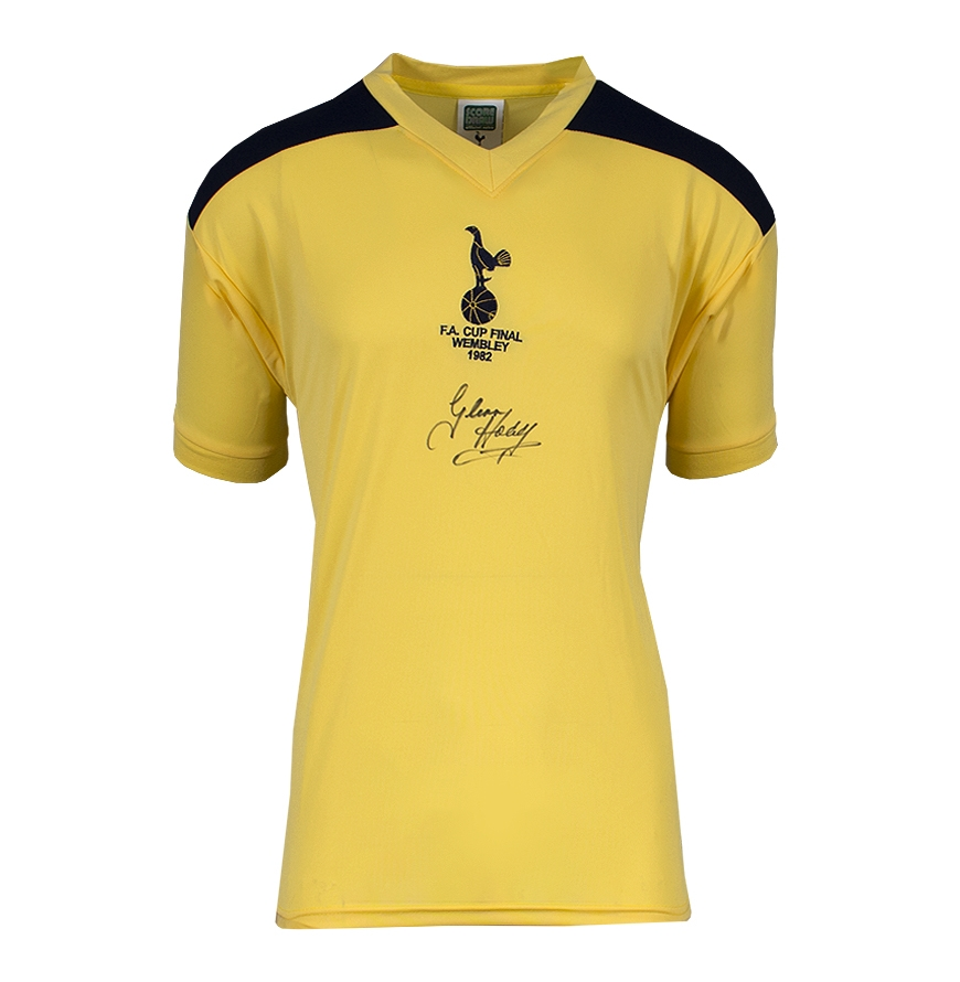 Glenn Hoddle Signed Tottenham Hotspur Shirt 1982 Fa Cup Final Shirt Ebay